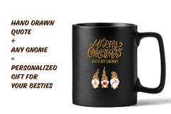 Christmas Gnome SVG, Build your Gnome, Christmas Bundle SVG Product Image 2