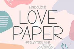 Love Paper - Cute Handwritten Display Product Image 1