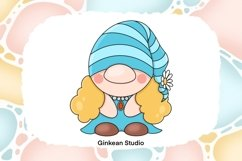 Gnome clipart, gnome png, sublimation, sticker planner Product Image 3