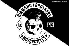 Biker Diamond Typeface Product Image 3