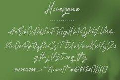 Web Font Hiragana - Signature Font Product Image 5