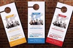 Employment Business Door Hangers Product Image 3