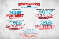 HARDLINERS - Extreme Sport Font Product Image 3