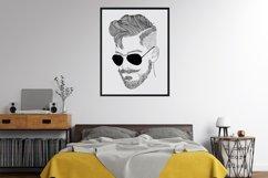 Wall art - modern man fashion Product Image 5