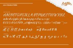 Benfila | Handwritten Script Font Product Image 4