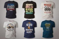 T-Shirt Designs Bundle SVG Retro Sublimation Pack. Part 1 Product Image 5