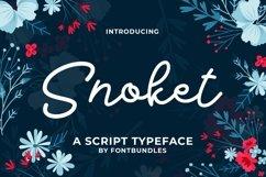 Web Font Snokey Product Image 1