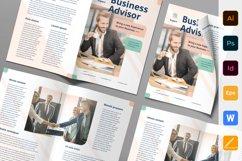 Business Advisor Brochure Bifold Product Image 1