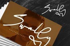 Web Font Batellya - A Stylish Signature Font Product Image 4