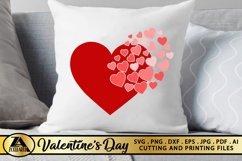 Heart SVG Valentine SVG Valentines Day SVG Love SVG Cut file Product Image 2