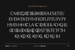 Signore - Serif Typeface Product Image 11