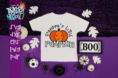 Grandpa's Little Pumpkin Fall SVG Product Image 1