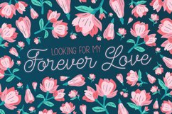 Wildflowers in Spring Font Duo Product Image 6