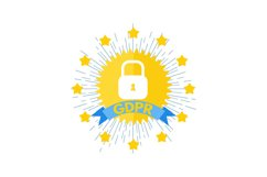 General Data Protection Regulation - GDPR logo. Product Image 1
