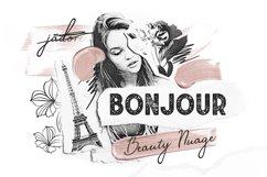 Bonjour Sans Serif Font Product Image 1
