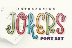 Jokers Font Set Product Image 1