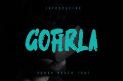 GOFIRLA - Rough Brush Font Product Image 1