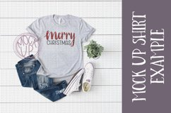 Merry Christmas PNG File / Sublimation Clipart File Product Image 3