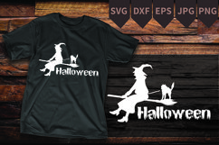 Witch shirt Halloween tee idea for T Shirt Product Image 1