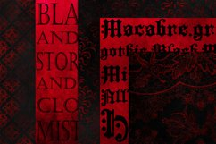 Red & Black Grunge Gothic Backgrounds Product Image 2