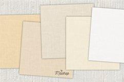 Digital Paper Pack - Linen Natural Set 01 Product Image 3