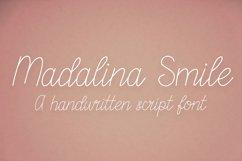 Madalina Smile - a monoline handwritten script font Product Image 1