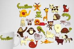 Alphabet animals, zoo, woodland - Graphics Bundle Product Image 3