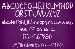 Huckleberry Hand-lettered Font Product Image 2