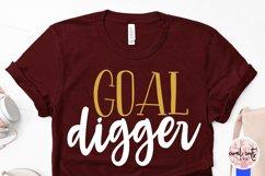 Goal digger - Women Entrepreneurship EPS SVG DXF PNG Product Image 3