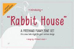 Rabbit House Funky Font Set Product Image 1