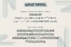 Winter Poppins | Handwritten Font Product Image 5