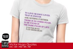 Victor Hugo Quotes from Les Miserables - SVG & Cut Files Product Image 4