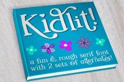 Kidlit - a fun serif font! Product Image 1