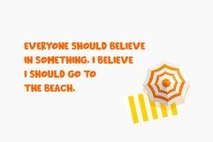 Beachday - Fun Display Font Product Image 5