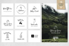 Magic Winter script font duo & logos Product Image 3