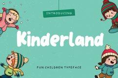 Kinderland Fun Children Typeface Product Image 1