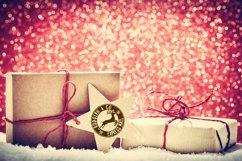 Christmas Stamps Bundle, Santa Sack Clipart, Letter to Santa Product Image 3