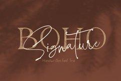 Boho Signature Handwritten Font Trio Product Image 1