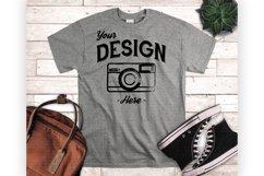 T shirt Mockup Bundle 5 Colors Styled T Shirt Display Product Image 6