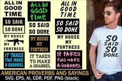 American prowerbs and sayings Product Image 1