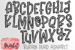 Buffalo Plaid Alphabet for Sublimation Product Image 4