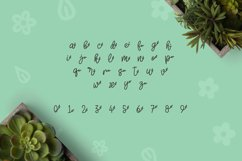 Web Font Herbie - A Flowery Font Product Image 5