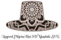 Thanksgiving Mandala SVG Bundle - 3D Layered Mandalas Product Image 2