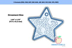 Decorative Star Ornament Embroidery Product Image 2