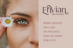 Shavina Serif Font with beauty swash and alternate Product Image 5