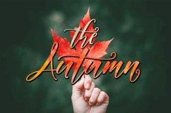 Autumn Script Product Image 1