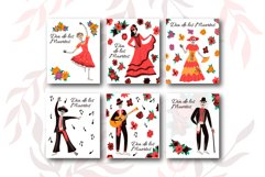 Mexican Day Of The Dead vector illustrations Product Image 6