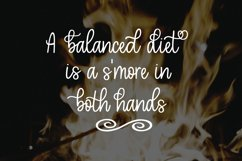 Toasted Marshmallow - A handlettered script font Product Image 6