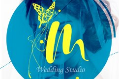 Acmedia Butterflies and Flowers Font Product Image 5