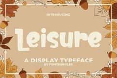 Web Font Leisure Product Image 1